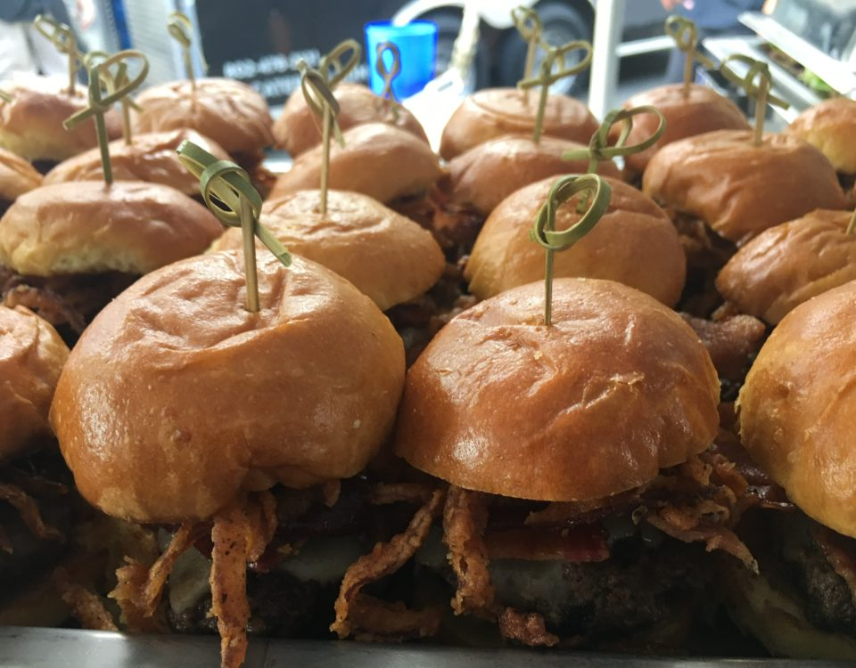 Smokehouse BBQ sliders